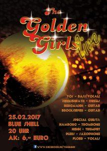 Golden Girls Blue Shell 2017