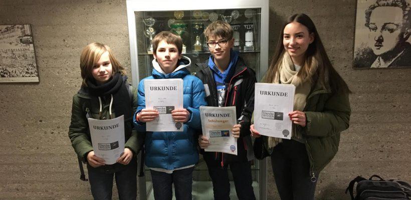Geographie-Wettbewerb Diercke WISSEN 2018