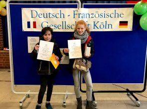 Französisch – hervorragende Ergebnisse beim schulexternen Lesewettbewerb