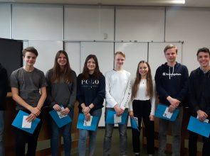 Erfolgreicher Schulwettbewerb Jugend debattiert am GBG