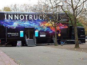 Der InnoTruck: eine interaktive Erlebniswelt