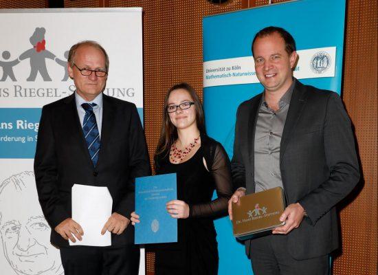 Hans-Riegel-Fachpreise 2017, UniversitŠt zu Kšln, Datum: 12.10.2017, Foto: © Patric Fouad