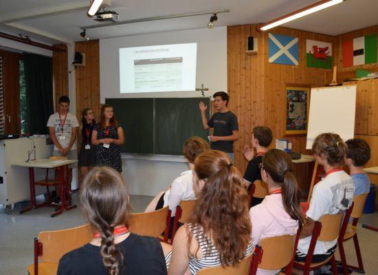 Teilnahme an der Deutschen Schülerakademie in Urspring
