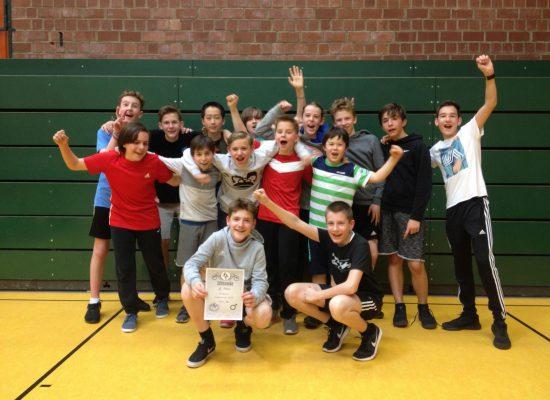 Basketball-Turnier Jahrgangsstufe 7