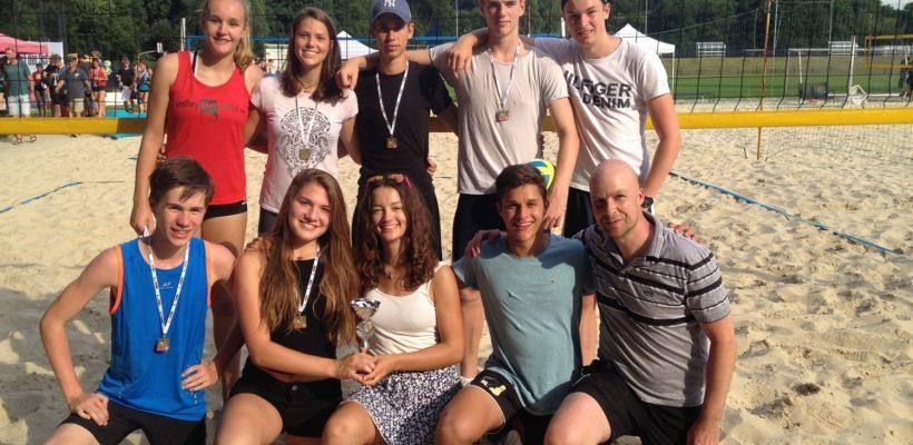 3. Platz im Beachvolleyball-Landesfinale von Nordrhein-Westfalen