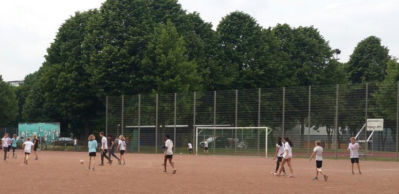 Jahrgangsstufenturnier Fußball Klasse 6