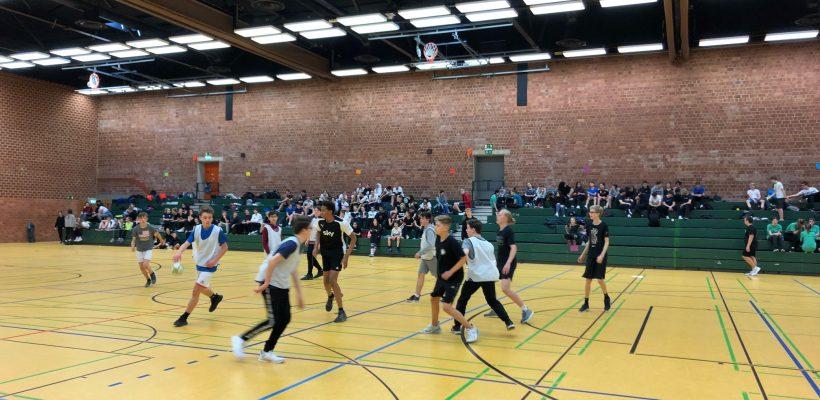 Jahrgangsstufenturnier Handball Klasse 8