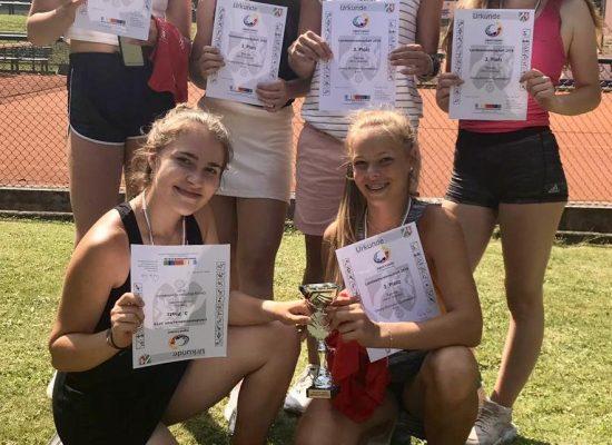 3. Platz bei der Landesmeisterschaft im Tennis