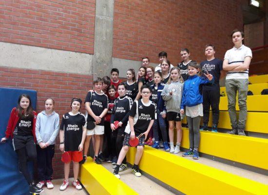 Die Klasse 6c gewinnt das Bezirksturnier beim Milchcup!