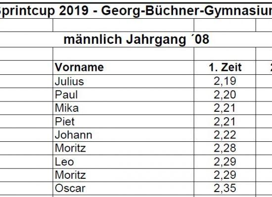 Sprintcup 2019