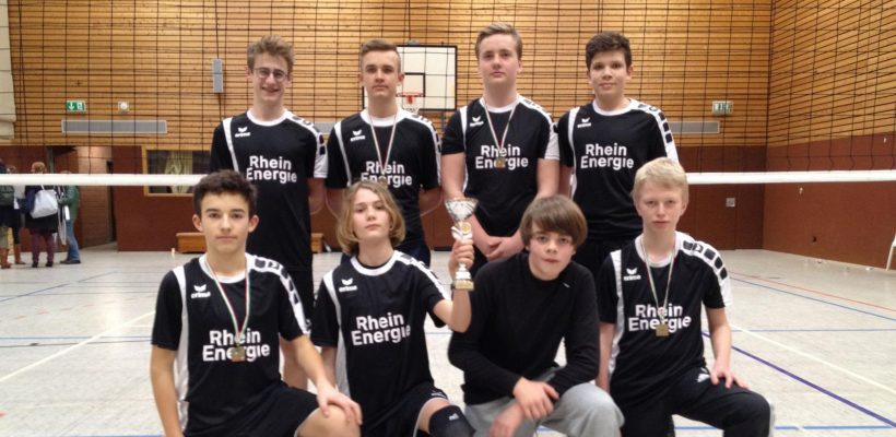 GBG-Volleyballer erreichen den 3. Platz im Landesfinale von Nordrhein-Westfalen