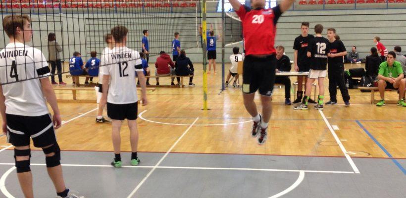 1. Platz im Regierungsbezirk Köln im Volleyball