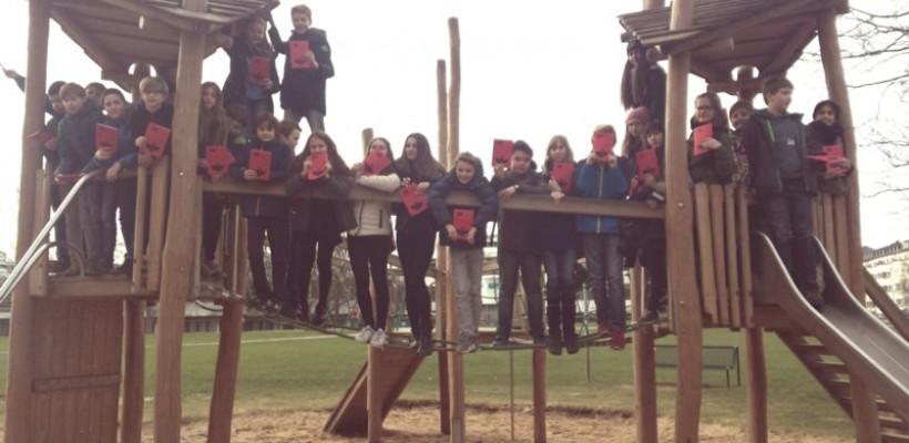 Die Klasse 6d schnupperte zum ersten Mal Uniluft