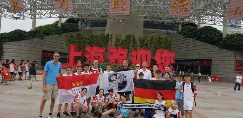 GBG-Schüler in Shanghai
