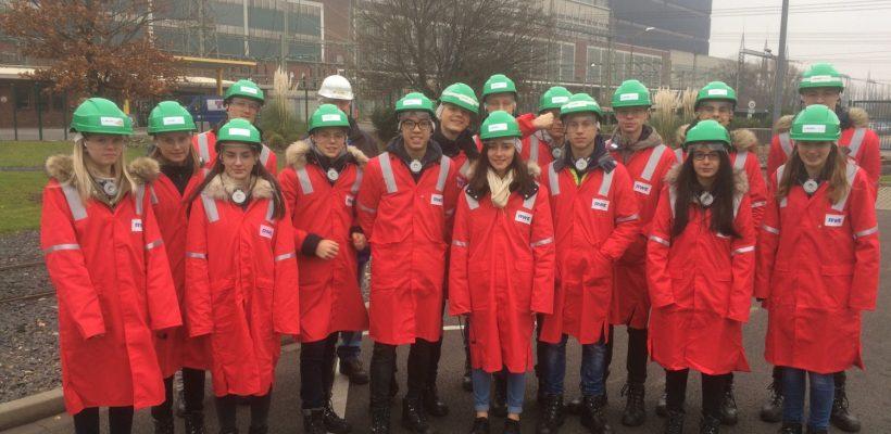 Exkursion ins Kohlekraftwerk
