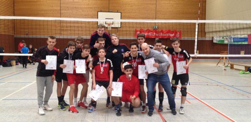 Volleyball: 2. Platz im Landesfinale NRW