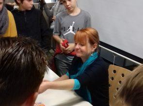 Autorenlesung mit der Kinder- und Jugendbuchautorin Gerlis Zillgens am GBG