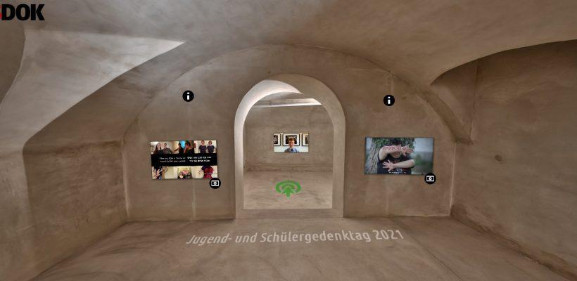 Das GBG beim virtuellen Jugend- und Schülergedenktag