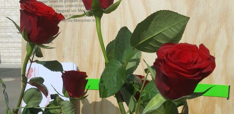 """""""Flower Power – Sag es mit fairen Rosen"""""""
