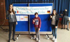 Französisch Vorlesewettbewerb 2017 Regionalrunde