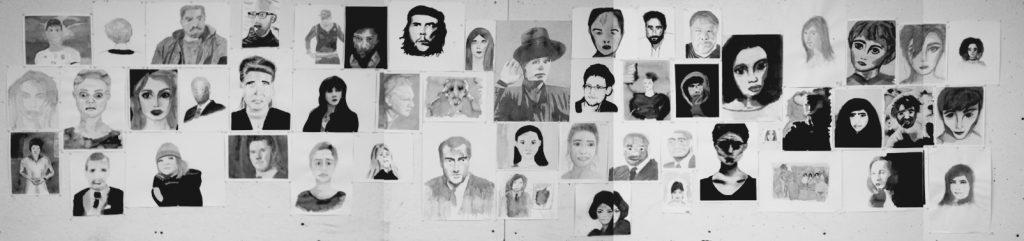 Kunst Portraits GK Schmidt