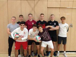 Sport Stadtmeisterschaften Volleyball Jungen
